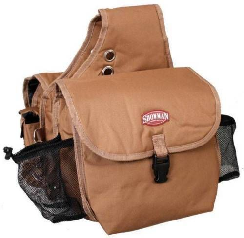 Showman Brown Deluxe Cordura Nylon Western Insulated Saddle Bags New Horse Tack #Showman #Western