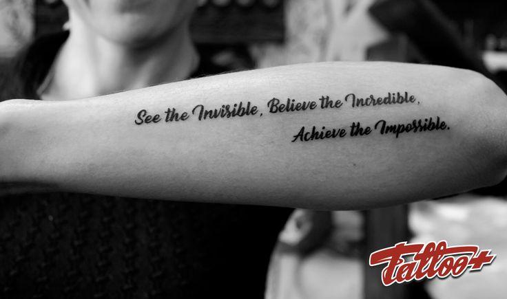 Tattoo font  Надпись тату