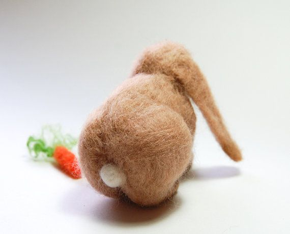 Needle Felted Lop Rabbit French Lop Rabbit Lop Bunny Rabbit