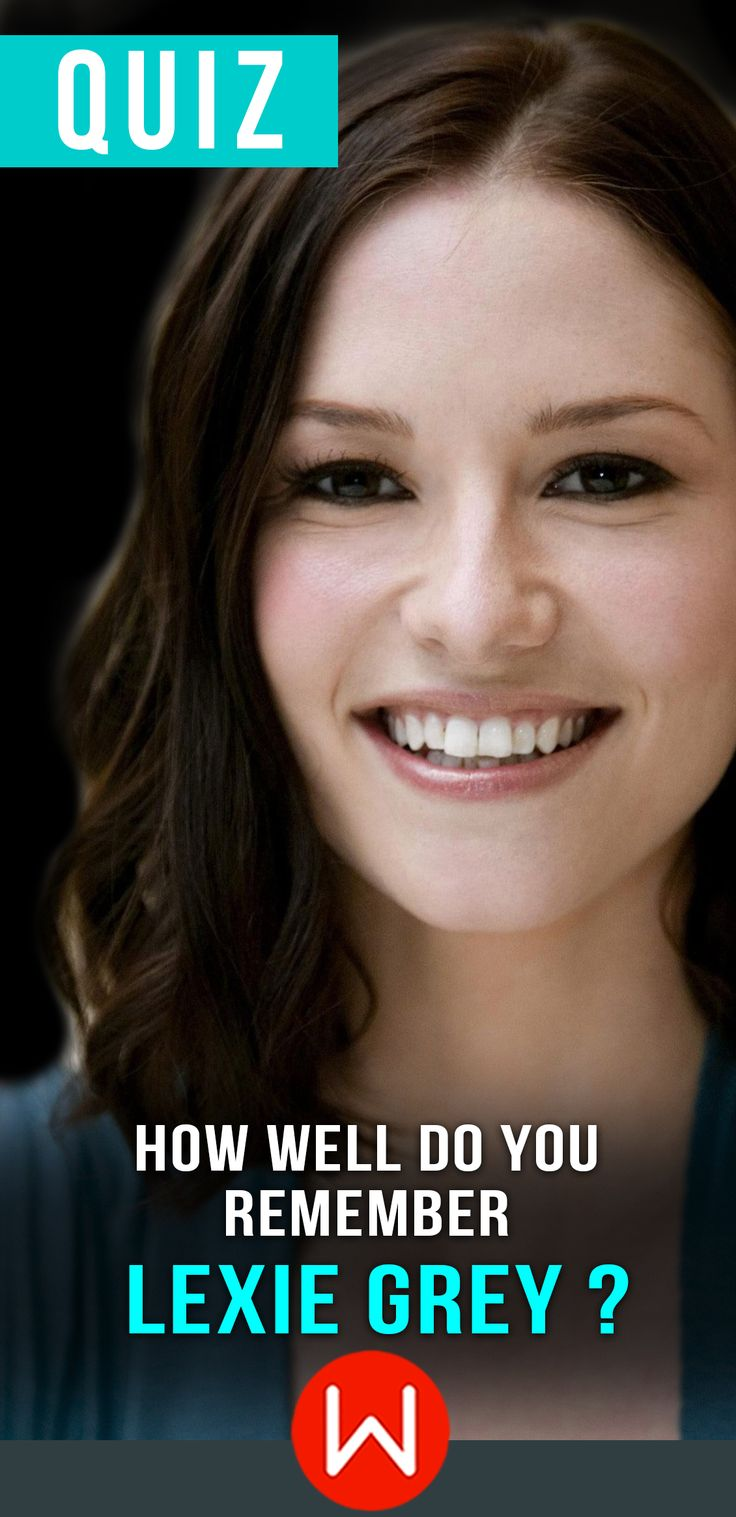 Do you think you actually remember the famous Lexie Grey? Go ahead and take this quiz to find out! Lexipedia, Photographic memory, geek of Grey's,  Slexie, Grey's Sisters, Little Grey....Take this Lexie Grey trivia test to see how much you REALLY remember her! Greys Anatomy trivia quiz, Greys Fun Quiz.
