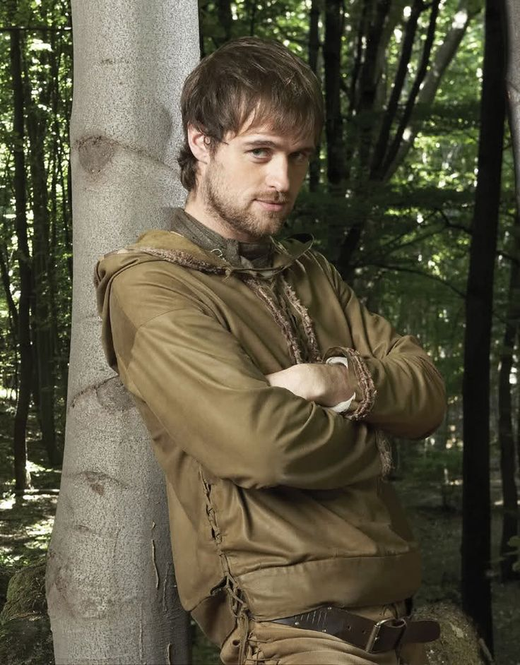Robin Hood - Jonas Armstrong. This show definitely had some issues, budget mainly, but was still a splendid take on Robin Hood!