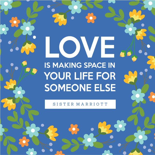 """""""Love is Making Space in Your Life For Someone Else"""" -  I LOVED this talk! 2016 LDS Women's Conference FREE Printable"""