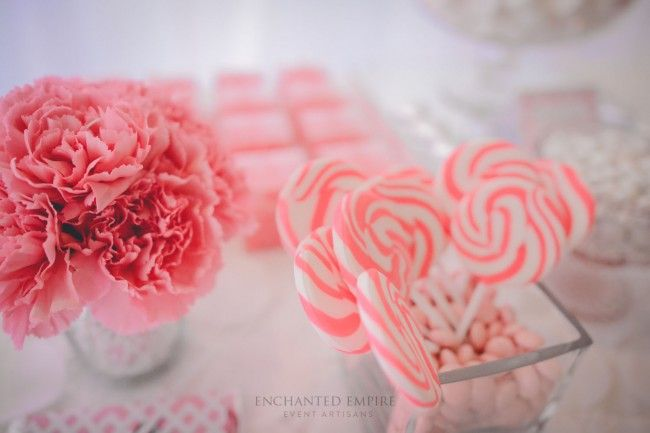 White + Pink Candy Bar « Enchanted Empire