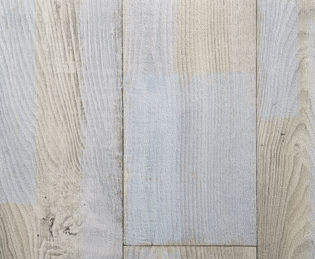 Rhino Style Patched Wood White Vinyl Flooring 163 11 99 M2