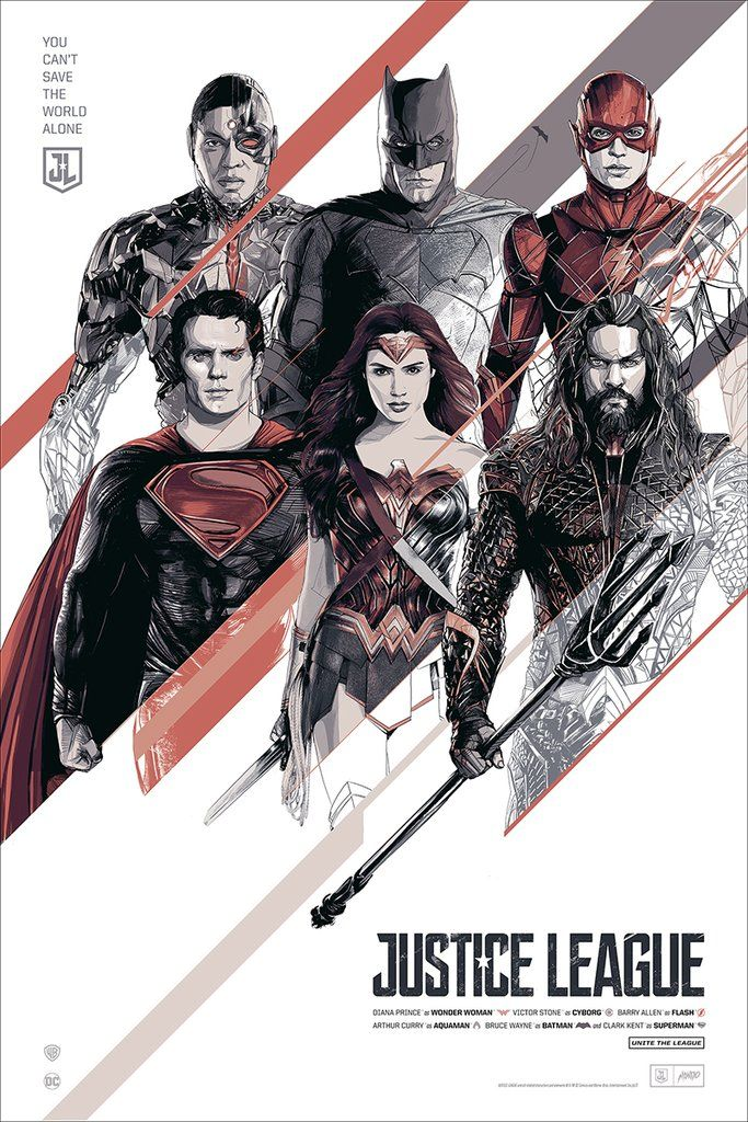 Justice League by Mondo