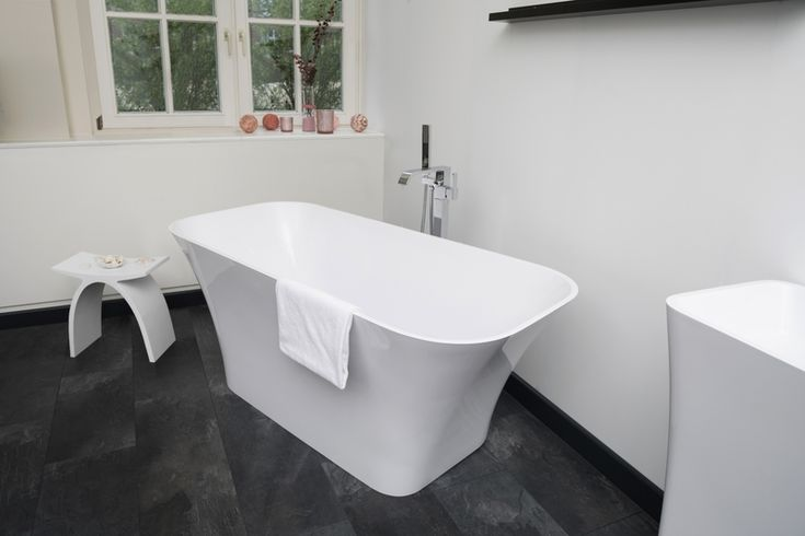 Monza Freestanding Stone Cast Bath | Decide now for a real stone cast bathtub at discounted price. Original stone cast designer bathtubs produced in Europe with a special discount; the... view details on www.treniq.com