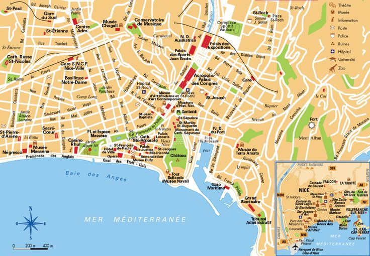 map of nice france - Google Search