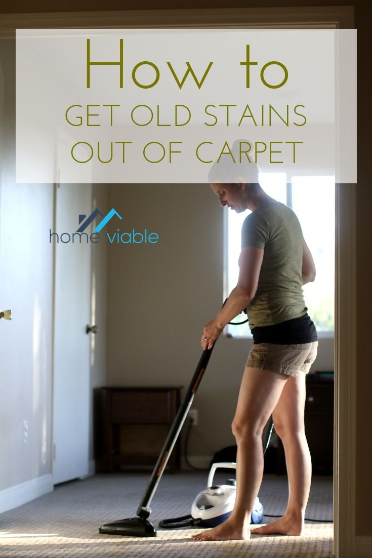 How To Get Old Stains Out Of Your Carpet For Good With Images