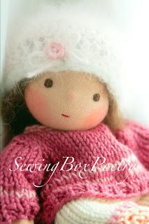 """""""Sewing Box Poetry"""": Hello little Baby Girl"""