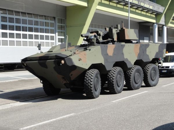 Iveco Superav 8x8 Armoured Personnel Carrier - Army Technology