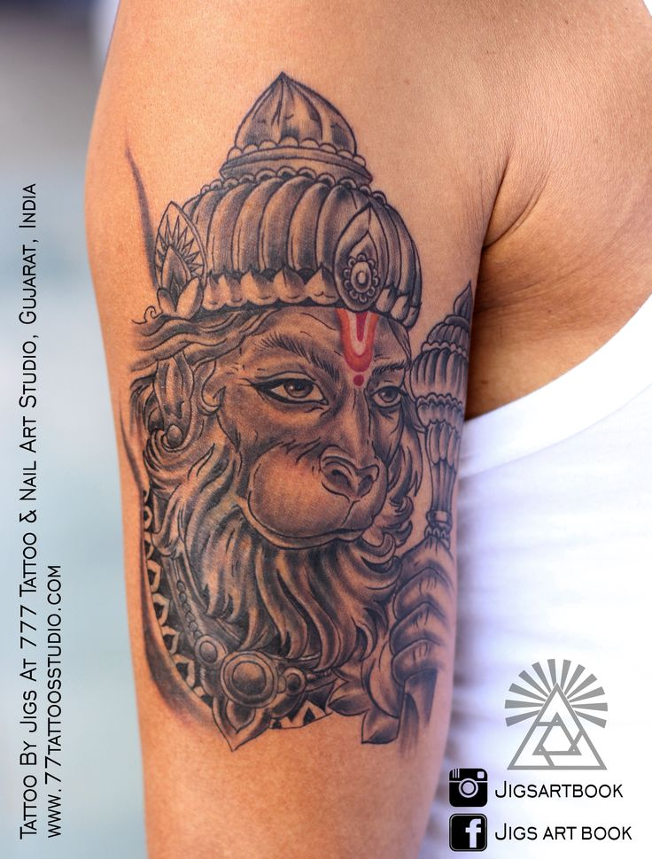 best 25 hanuman tattoo ideas on pinterest. Black Bedroom Furniture Sets. Home Design Ideas