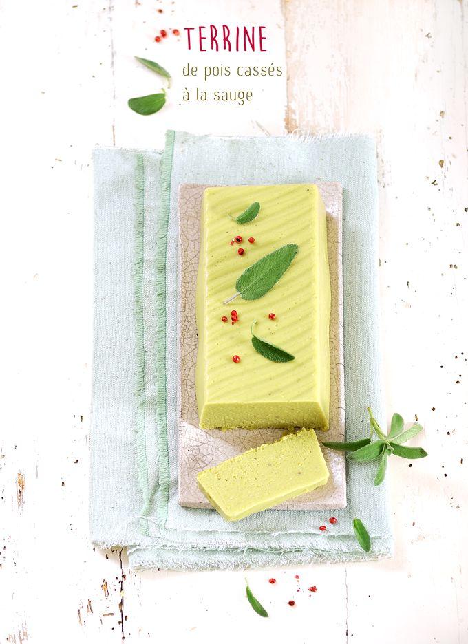 My Sweet Faery: Terrine de pois cassés à la sauge - Split pea and sage pâté
