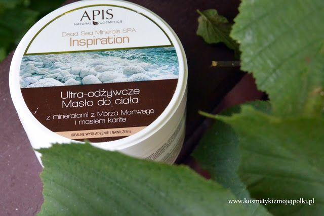 Kosmetyki z Mojej Półki: Ultra-odżywcze masło do ciała z minerałami z Morza Martwego | APIS Natural Cosmetics