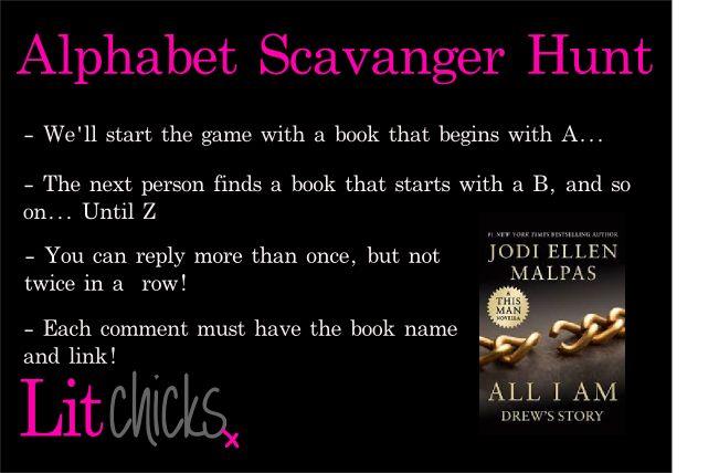 Online Game - Alphabet Scavanger Hunt