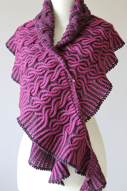 Ravelry: Flaming Shawl pattern by Lady in Yarn