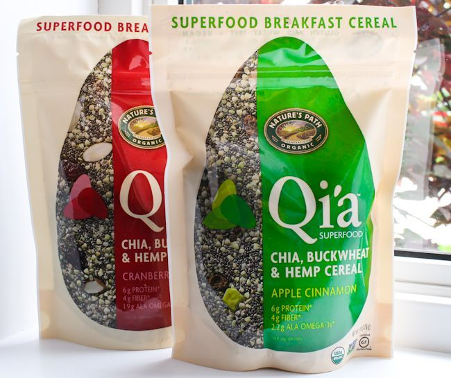Nature's Path Qi'a combines 3 superfoods to give you healthy and organic nutrition and energy. Read more and enter to win.