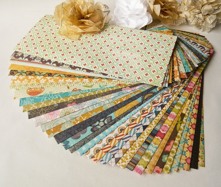 12 Assorted Quilting Bee Patterned Envelopes Size - Legal / Letter