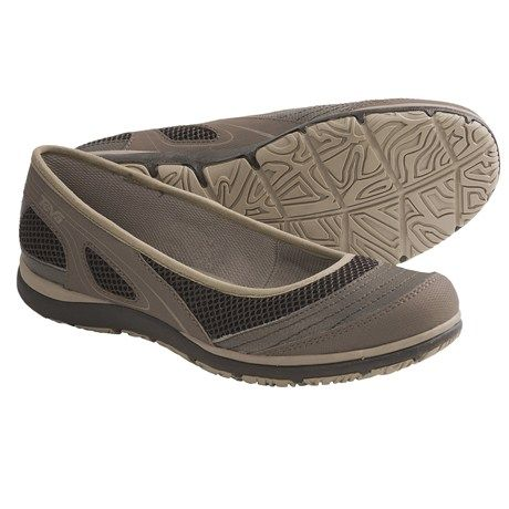 Teva Makena Ballerina Shoes (For Women) in Light Brown