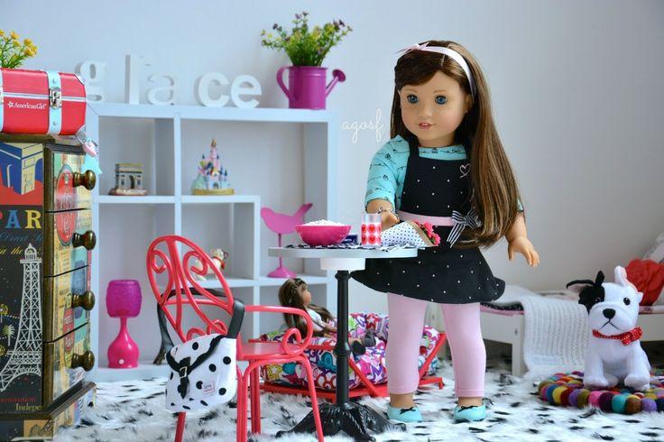 American Girl Doll Grace's Bedroom ~ Watch in HD! - YouTube