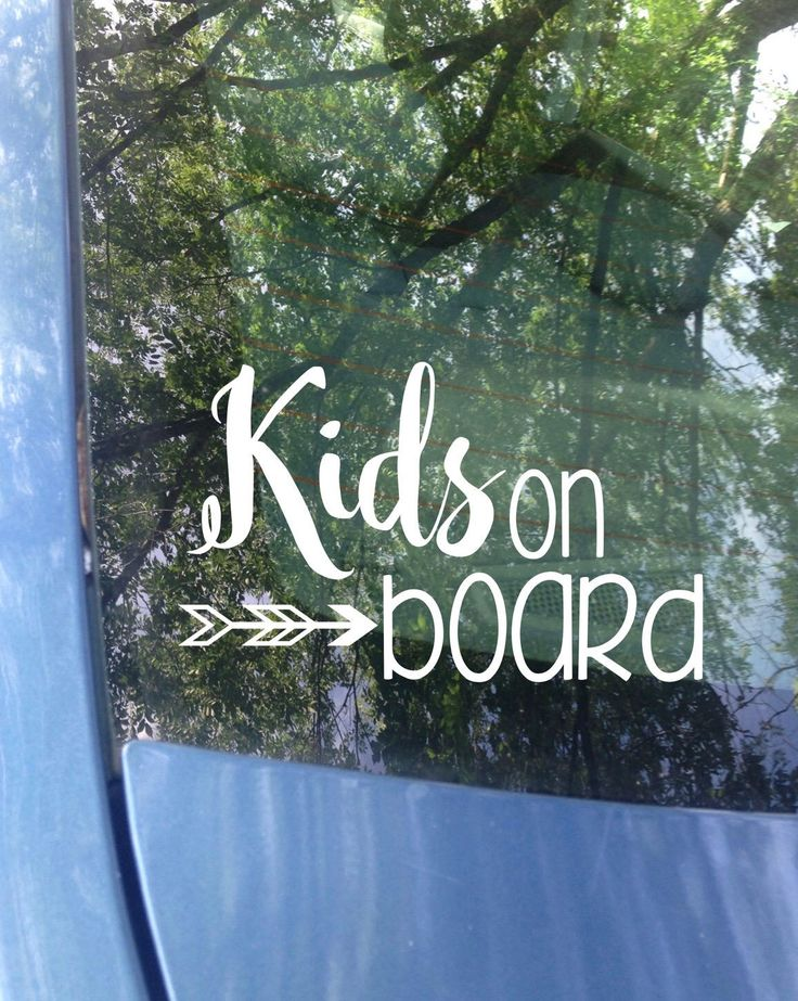 Kids on board Window Decal | Car Decal | New Baby | Baby Shower Gift | Baby on board Sticker | Mom Decal | Child on board | Safety | Van by MrsTollettDesigns on Etsy https://www.etsy.com/listing/529265241/kids-on-board-window-decal-car-decal-new