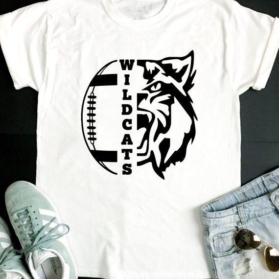 d7e8f6a910 Wildcats SVG, Football SVG, Wildcats Football T-shirt Design, Football Mom  Shirt, Cricut Cut Files,   Products   Cutting files, Football, Football mom  ...