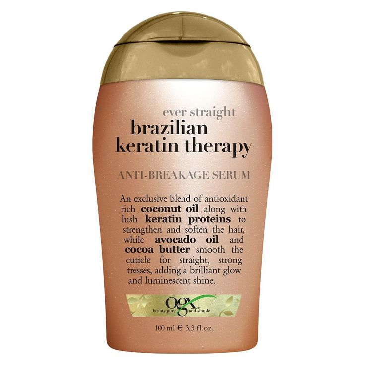 OGX Ever Straight Brazilian Keratin Therapy AntiBreakage
