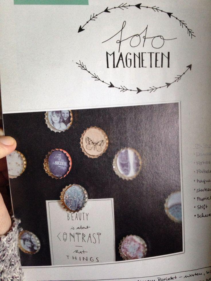 Foto Magneten - easy peasy