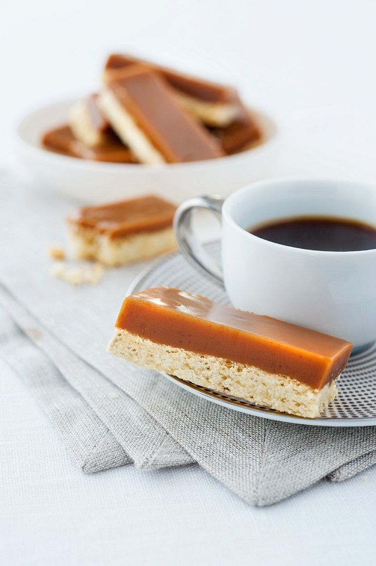 Karamell-Shortbread - smarter - Zeit: 45 Min.   eatsmarter.de