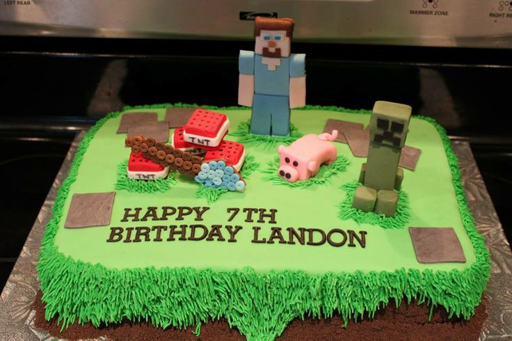 Cake Ideas Minecraft : Pin by Martha Kluge on Cake Designs Pinterest ...