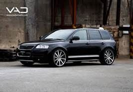 Vw Touareg 22in Altstadt F100 Black and Polished
