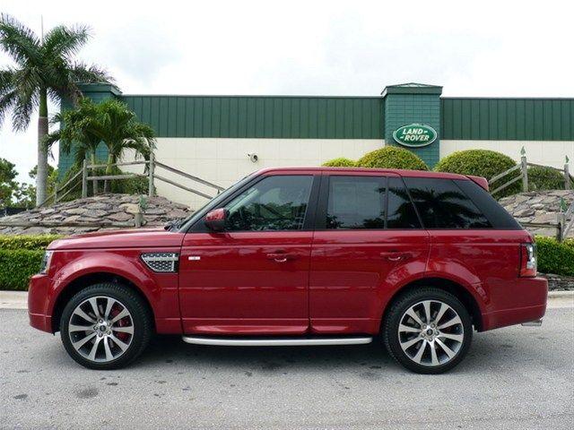2013 Range Rover Sport Autobiography in Firenze Red  Range Rover