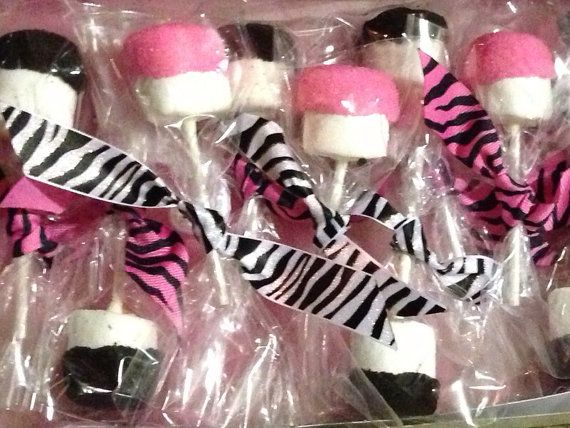 Hey, I found this really awesome Etsy listing at https://www.etsy.com/listing/161629387/24-zebra-pink-oreo-covered-marshmallow