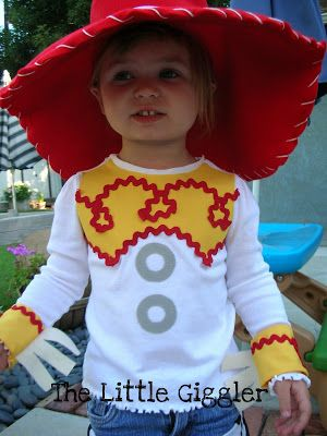 The Little Giggler: Cowgirl Jessie Halloween Costume