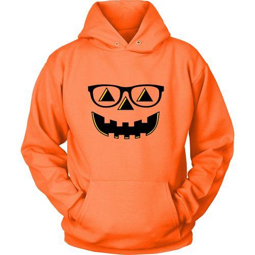 Bespectacled Pumpkin Hoodie