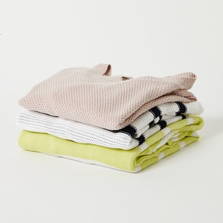 COTTON KNITS / Soft ad breathable, our 100% cotton knits in buy now, wear forever shapes are perfect for layering now or equally easy thrown on for a little light relief from evening summer breezes.