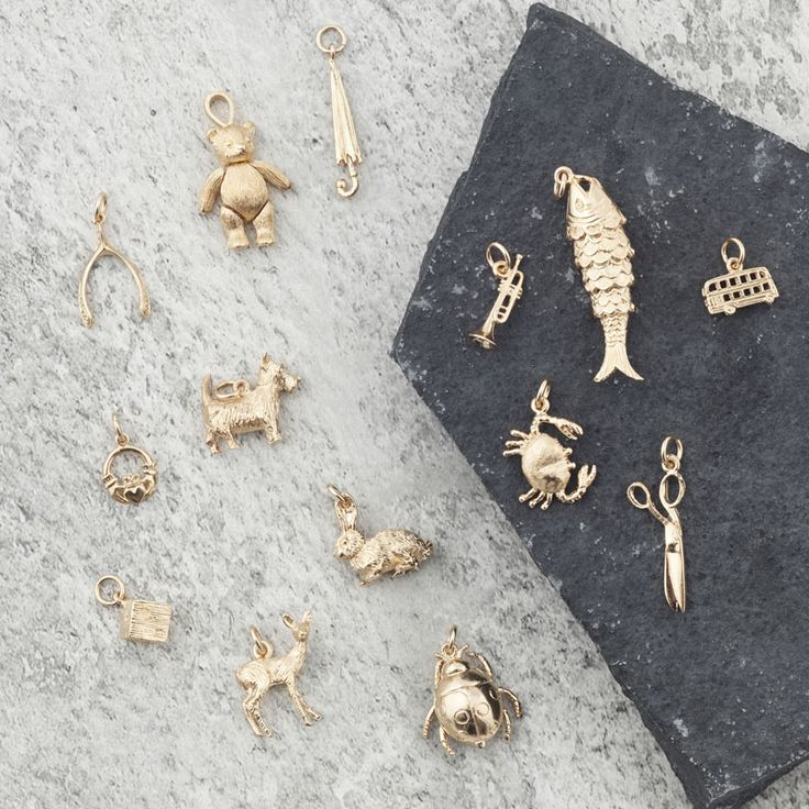 Charms by Mirabelle | from £25 | V&A Shop #VAMshop #mirabellejewellery