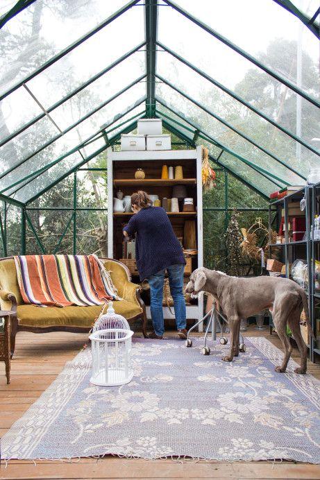 Freunde von Freunden — Manuela Sosa's greenhouse workspace