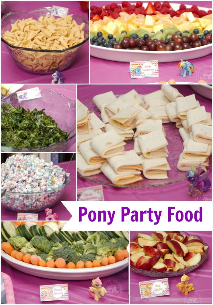 Magical ideas for a  homemade My Little Pony birthday party!