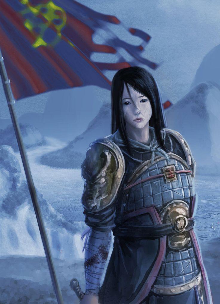 Hua Mulan by agwong.deviantart.com on @deviantART