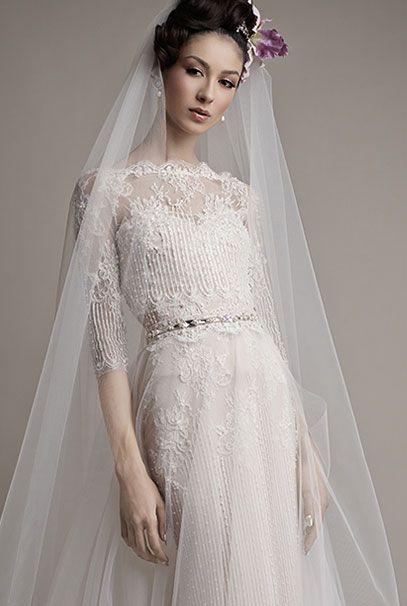 Ersa Atelier 2015 свадебные платья Melisse