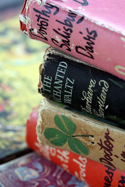lovely old books