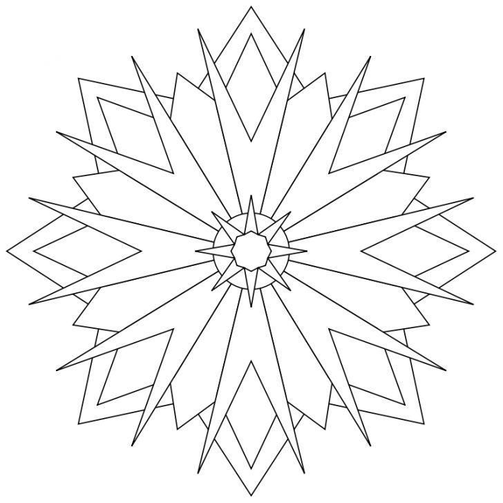 mandalaausmalbild nr 94  ausmalbilder mandala