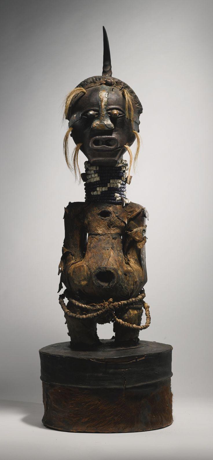 Songye Nkisi (Power Figure), DRC http://www.imodara.com/post/89574983609/dr-congo-songye-nkisi-nkishi-power-figure