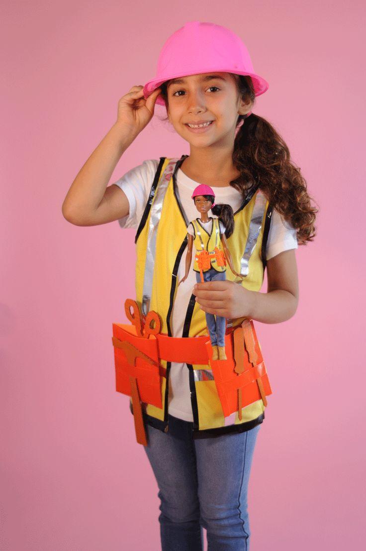Diy construction worker halloween costume make a builder