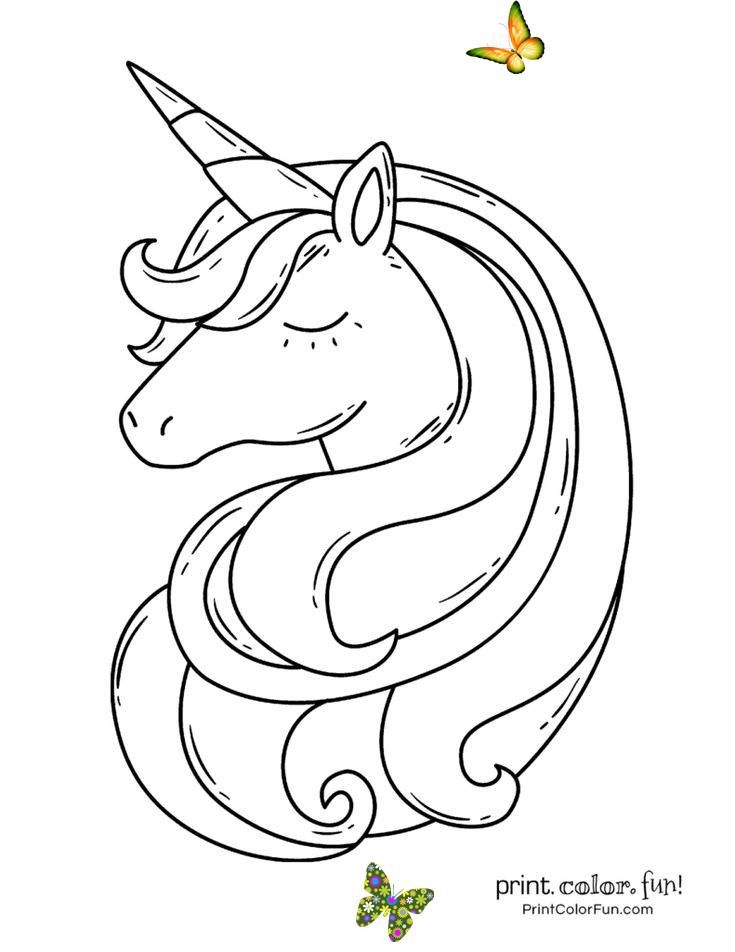 Top 100 Magical Unicorn Coloring Pages The Ultimate Free Printable Collection Print Color Fun Br Stories Of The Marvelous Magical Mythical Unicorn I 2020