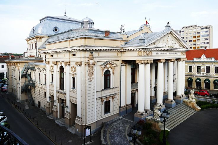 The Theater was built from 1899 after the plans of the Vienesse firm Fellner and Helmer what planed almost 50 theaters in Europe like those of Timisoara, Cluj and Iasi. The entrepreneurs Kalman Rimanoczy Jr, Jozsef Guttman and Vilmos Rendes realized the building in less than two years and  the curtains lifted up at October 15th 1900.
