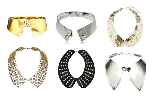 Collares como cuellos / Collar necklace