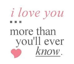 Afbeeldingsresultaat voor you don know what love until you found true love