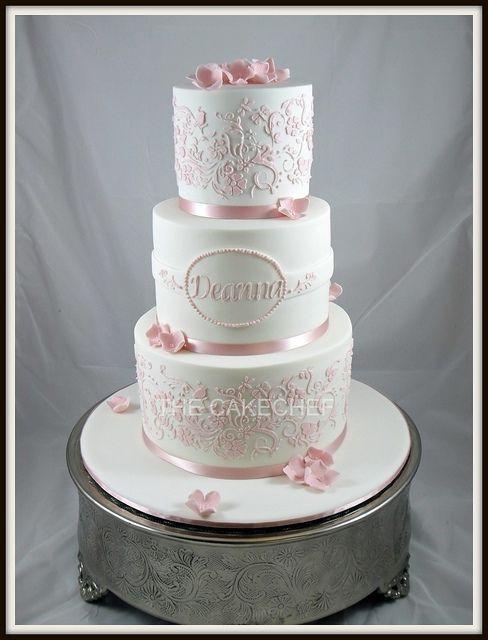 christening cakes for girls | Christening cake | Flickr - Photo Sharing!
