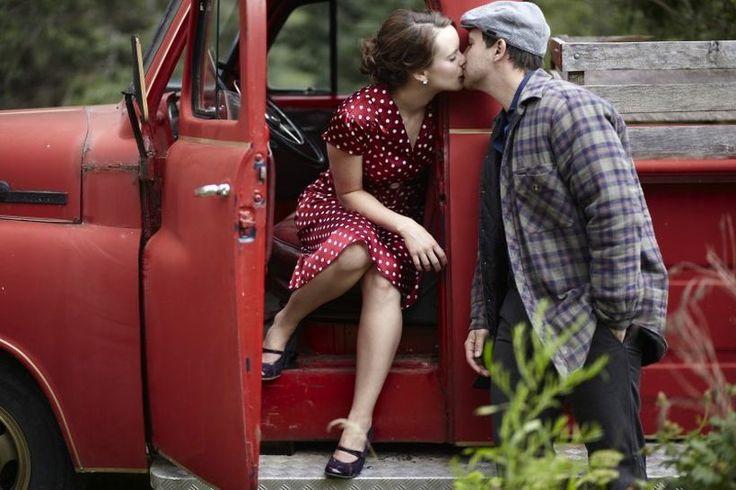 Para celebrar su compromiso decidió recrear imágenes de las escenas más significativas de la película Diario de una pasión